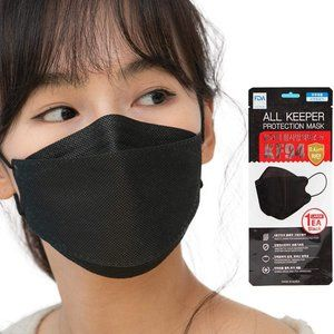 10 PACK KF94 [BLACK] Face Mask Made in South KOREA